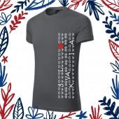 Pánske strečové tričko SLOVAKIA