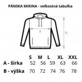 Mikina s kapucou z certifikovanej BIO bavlny - Slovakia