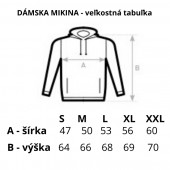 Mikina s kapucou z certifikovanej BIO bavlny - LOMNIČÁK