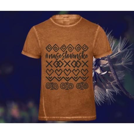 Originálne tričko ČIČMANY