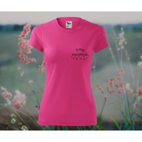 Ružové dámske tričko na šport