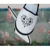 Froté bavlnené papuče - Ovečka