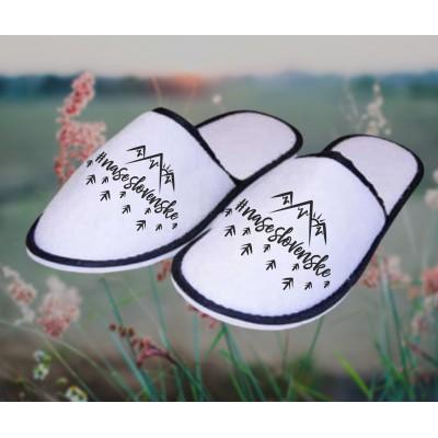 Froté bavlnené papuče - NASESLOVENSKE