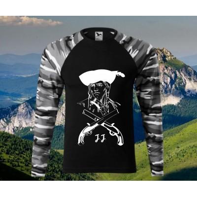 maskáčové tričko - JÁNOŠÍK