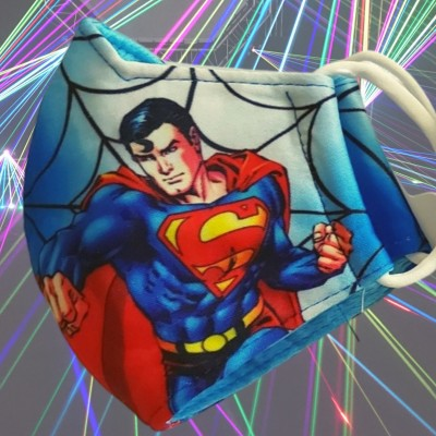 Detské rúško SUPERMAN