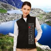 Softshellová vesta s motívom SLOVAKIA