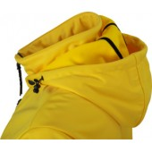 Softshell bunda s kapucou PÚPAVY