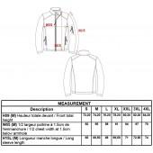 Softshell bunda - motív SRDCE