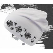 Elastická čiapka s folklórnym motívom VTÁČIKY