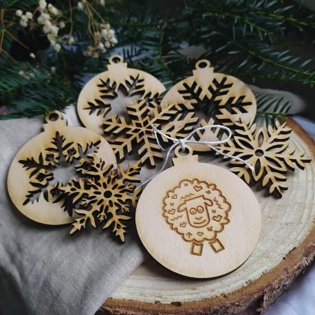 Vianočné ozdoby OVEČKA