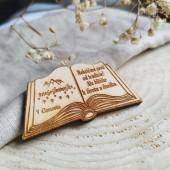 Magnetka/ odznak/ kľúčenka kniha CLEMENTIS