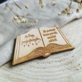 Magnetka/ odznak/ kľúčenka kniha PRÍRODA