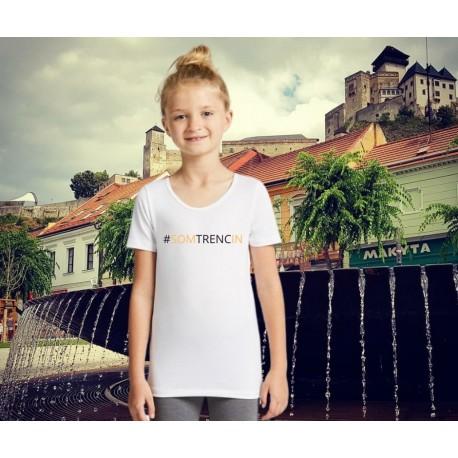 Dievčenské tričko z certifikovanej bio bavlny SOMTRENCIN