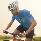 Dámsky alebo pánsky cyklo dres s krátkym zipsom
