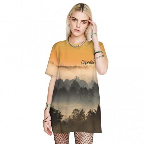 Veľmi pohodlné, mäkké a elastické tričko - ZÁPAD SLNKA
