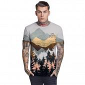 Veľmi pohodlné a elastické tričko VÝHĽADY