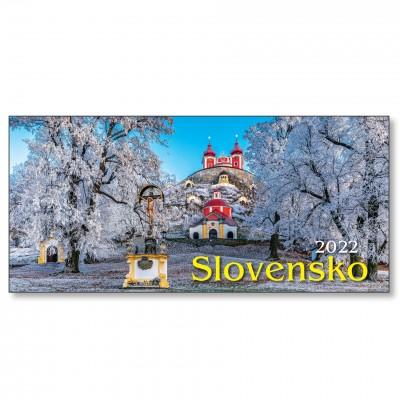 Stolový riadkový kalendár SLOVENSKO