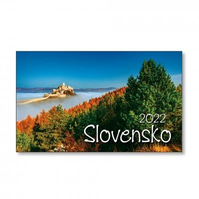 Stolový kalendár stĺpcovž SLOVENSKO