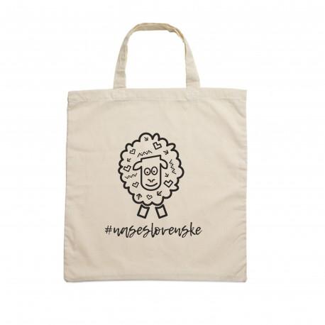 Bavlnená taška Folklórna ovečka