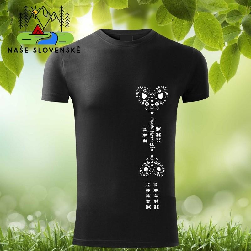 aa0bf90341ee štýlové tričko s krátkym rukávom s motívom srdce